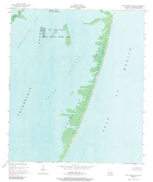 New Harbor Islands topo map