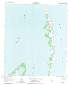 North Islands topo map