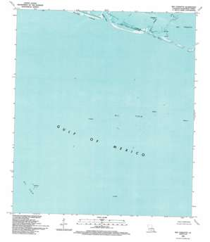 Bay Coquette USGS topographic map 29089b5