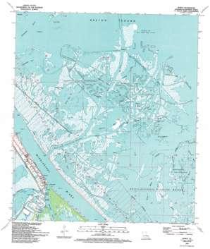Venice USGS topographic map 29089c3