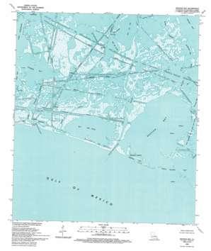 Bastian Bay USGS topographic map 29089c6