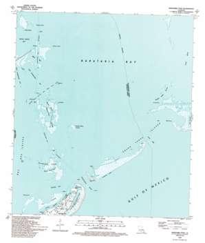 Barataria Pass USGS topographic map 29089c8