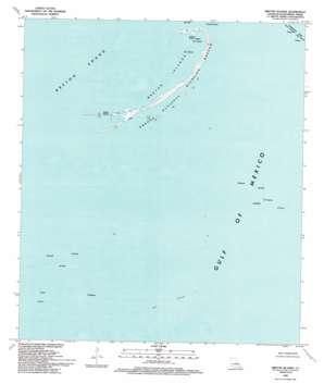 Breton Islands USGS topographic map 29089d2