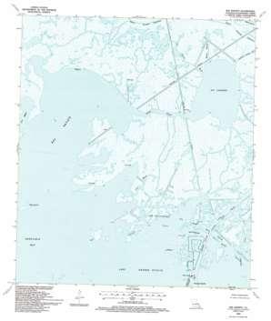 Bay Batiste USGS topographic map 29089d7