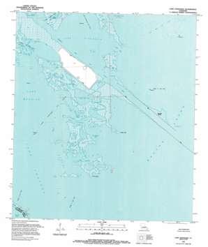 Lake Athanasio topo map