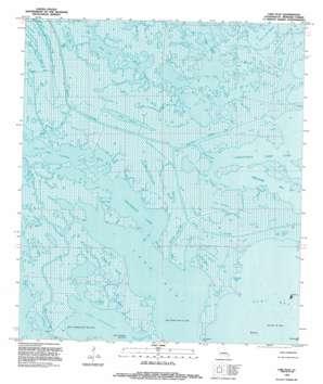 Lake Eloi USGS topographic map 29089g4