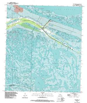 Yscloskey USGS topographic map 29089g6
