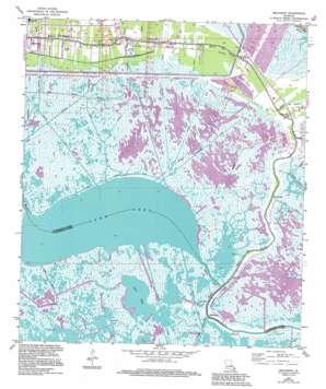 Delacroix USGS topographic map 29089g7
