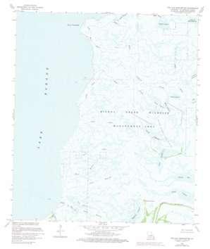 Pte Aux Marchettes USGS topographic map 29089h5