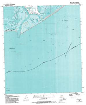 Belle Pass USGS topographic map 29090a2