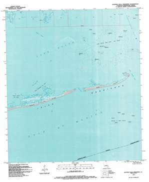 Eastern Isles Dernieres USGS topographic map 29090a6