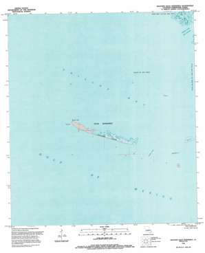Western Isles Dernieres USGS topographic map 29090a8