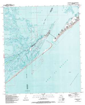 Caminada Pass USGS topographic map 29090b1