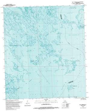 Bay Tambour topo map