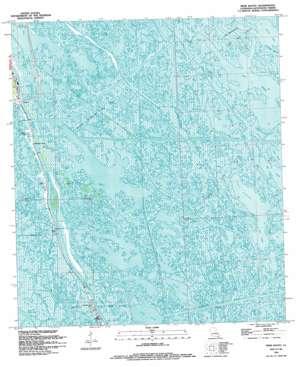 Mink Bayou USGS topographic map 29090c2