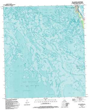 Bay Courant USGS topographic map 29090c3