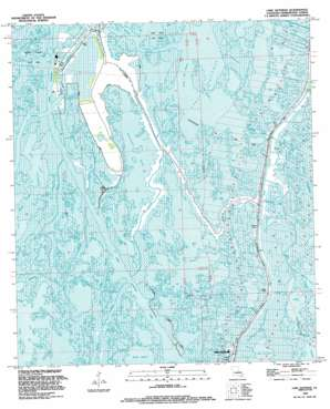 Lake Quitman USGS topographic map 29090c6