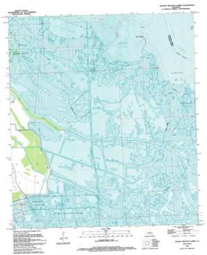 Golden Meadow Farms USGS topographic map 29090d2