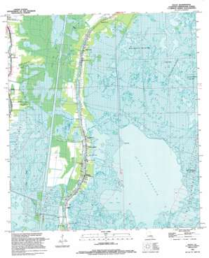Dulac USGS topographic map 29090d6