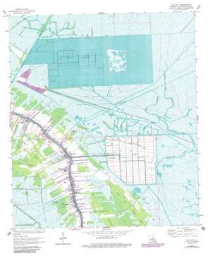 Cut Off USGS topographic map 29090e3