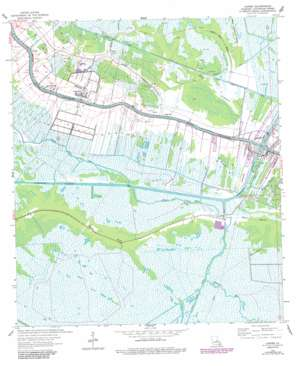 Larose USGS topographic map 29090e4