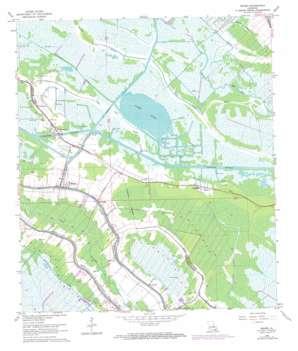 Bourg USGS topographic map 29090e5