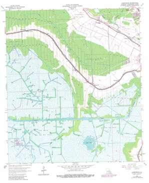 Humphreys topo map