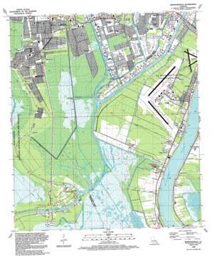 Bertrandville USGS topographic map 29090g1