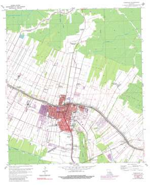 Thibodaux USGS topographic map 29090g7