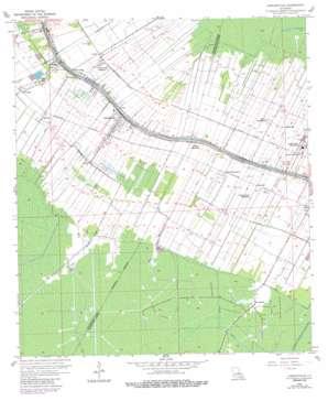 Labadieville USGS topographic map 29090g8