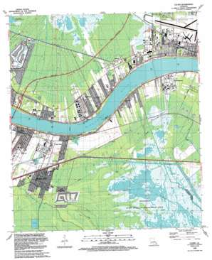 Luling USGS topographic map 29090h3