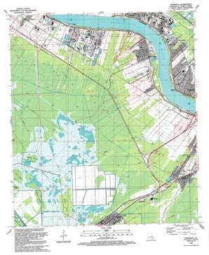 Hahnville USGS topographic map 29090h4