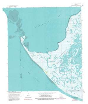 Point Au Fer USGS topographic map 29091c3