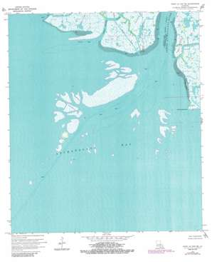 Point Au Fer Ne USGS topographic map 29091d3