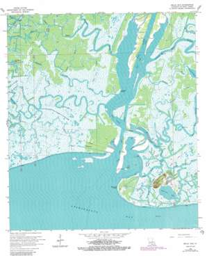 Belle Isle USGS topographic map 29091e4