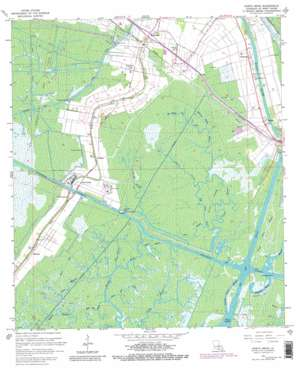 North Bend USGS topographic map 29091f4