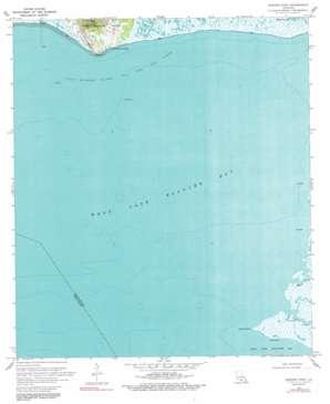 Marone Point topo map