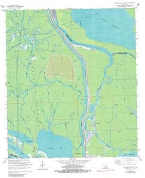 Napoleonville Sw USGS topographic map 29091g2
