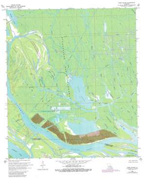 Tiger Island USGS topographic map 29091g3