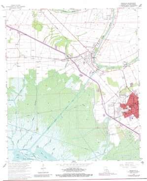 Franklin topo map