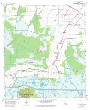 Kemper topo map