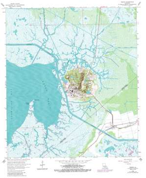 Weeks USGS topographic map 29091g7