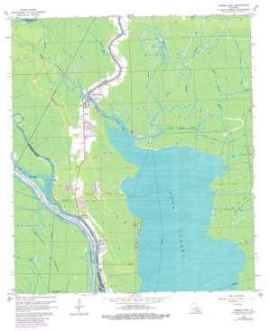 Pierre Part topo map