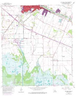 New Iberia South USGS topographic map 29091h7