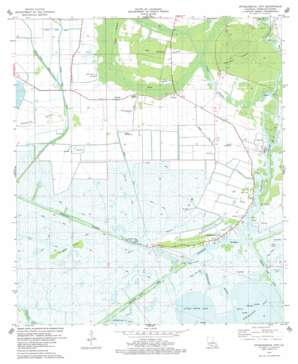 Intracoastal City USGS topographic map 29092g2