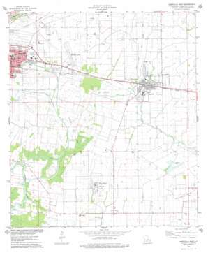 Abbeville East USGS topographic map 29092h1