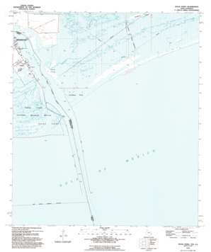Texas Point USGS topographic map 29093f7