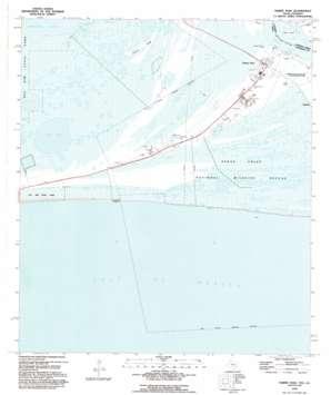Sabine Pass USGS topographic map 29093f8