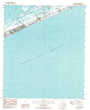 Caplen USGS topographic map 29094d5