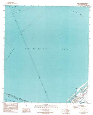 Port Bolivar USGS topographic map 29094d7